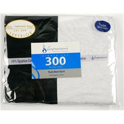 300 Count Twin Bed Skirt