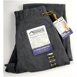 Mountain Khakis - Mens Original Mountain Pant. 28
