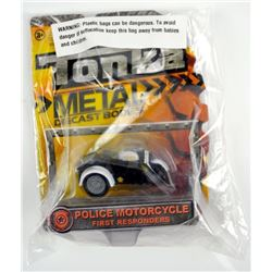 Tonka Metal Police Motorcycle.