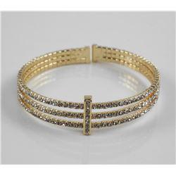 Flex Cuff Bracelet with Swarovski Elements