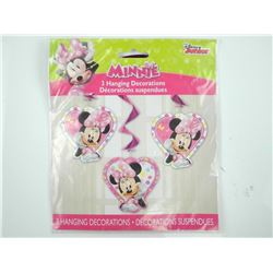 Minnie Mouse Hanging Decorations (3)