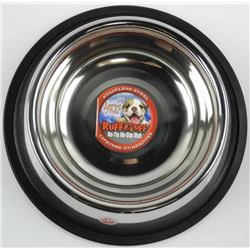 Ruff Tuff - No Tip Dog Dish, Stainless