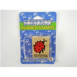 Sweet Arts Ladybug Rubber Stamp