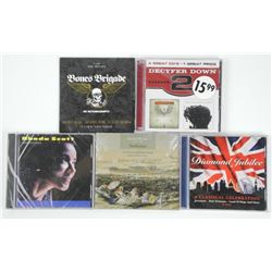 Lot of 5 CDs