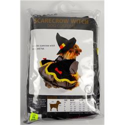 Scarecrow Witch Dog Costume.