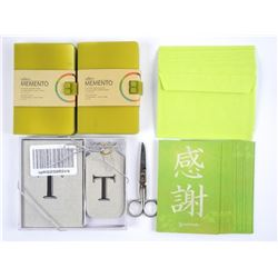 (2) Silicone cover Notebooks, (1) Pack of Tree Fre