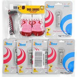 (5) Dog Training Whistle, xs Dog Collar & Dog Sock