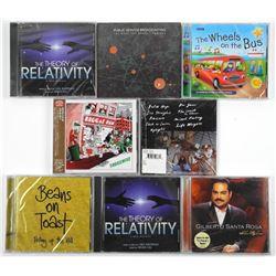 Lot (8) Music CD's