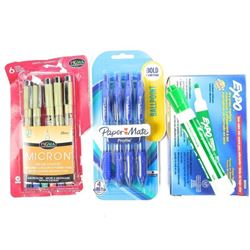 Lot Markers and Pens