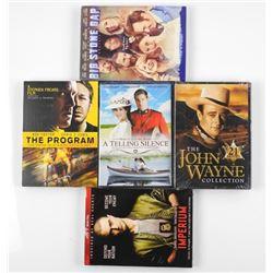 Lot (5) DVD's