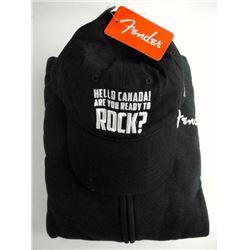 Canada Rock - Sweatshirt and Cap Black. Size Large