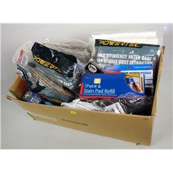 Box Lot - Misc. Filters, Vacuum Bags etc