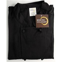 Mercer, Culinary Unisex Cook Jacket. Black Size 4x
