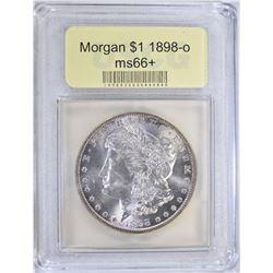1898-O MORGAN DOLLAR USCG GEM BU+
