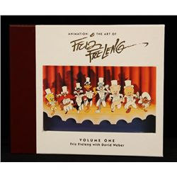 """LOONEY TUNES """"Animation: The Art of Friz Freleng Volume One"""" Collectible Book Se"""