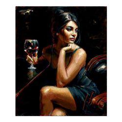 Saba with Glass of Wine by Perez, Fabian