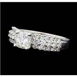 2.03 ctw Diamond Ring - 18KT White Gold