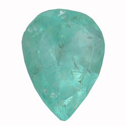 2.87 ctw Pear Emerald Parcel