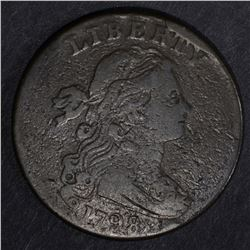 1798 DRAPED BUST LARGE CENT, VG