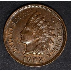 1902 INDIAN CENT, CH BU