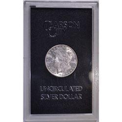 1884-CC GSA MORGAN DOLLAR CH BU ORIG BOX/COA