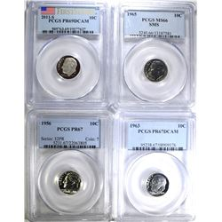 PCGS GRADED ROOSEVELT DIMES: