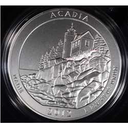 2012 AMERICA THE BEAUTIFUL UNC 5oz SILVER QUARTER