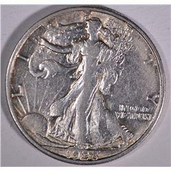 1928-S WALKING LIBERTY HALF DOLLAR  AU