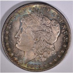 1878-S MORGAN DOLLAR  GEM BU COLOR