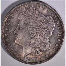 1888 MORGAN DOLLAR  GEM BU  COLOR