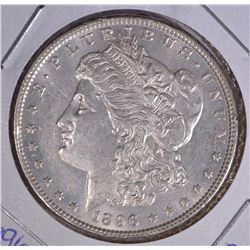 1896 MORGAN DOLLAR CHOICE BU