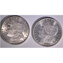 1883-O & 1887 MORGAN DOLLARS