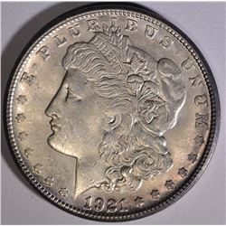 1921-S MORGAN DOLLAR CHOICE BU