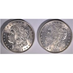 2 - 1921 MORGAN DOLLAR CHOICE BU