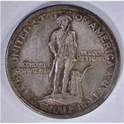 1925 LEXINGTON-CONCORD HALF SILVER