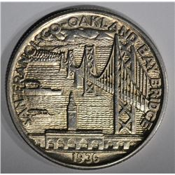 1936-S BAY BRIDGE COMMEM HALF