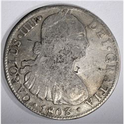 1803 MEXICO 8 REALES
