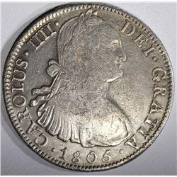 1805 MEXICO 8 REALES