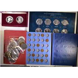 40 - CASINO TOKENS; 11- KENNEDY HALF DOLLARS;