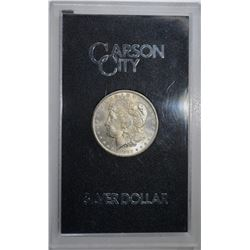 1882-CC GSA MORGAN DOLLAR, CH BU ORIG. BOX/COA