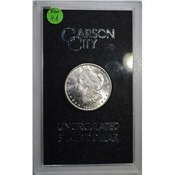 1884-CC GSA MORGAN DOLLAR, CH BU ORIG BOX