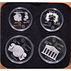 1976 CANADA 4-COIN OLYMPIC PROOF SET