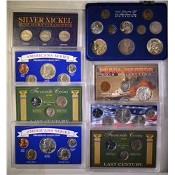 MISC COINS SETS CONTAINING SILVER COINS