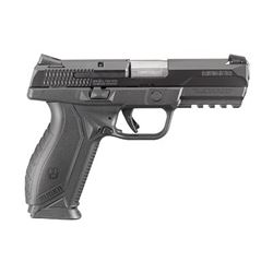 """RUGER AMERICAN 9MM 4.2"""" 17RD BLK"""