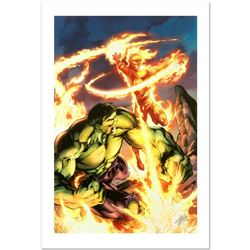 Incredible Hulk & The Human Torch: From the Marvel Vault #1 by Stan Lee - Marvel