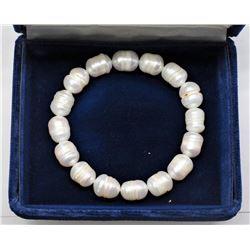 Fresh Water Pearl Flexible Size Bracelet - Retail $60