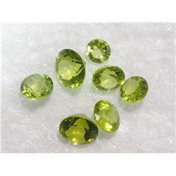 Assorted Round Genuine Peridot Gemstones - Retail $200
