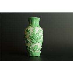 An old beijing jacking vase(Meiping).