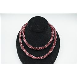 Garnet bracelet or neckless