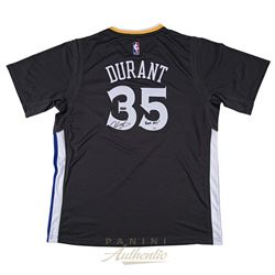 812e5d8f5a6 Kevin Durant Signed Warriors LE Authentic Swingman Jersey Inscribed